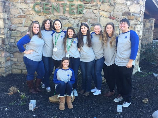 Last weekend seven Campbell County teens, accompanied by their 4-H agent and 4-H assistant, attended the Kentucky 4-H Issues Conference at the 4-H Leadership Center near Lake Cumberland.