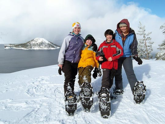 Ranger-guided snowshoe trips, through April