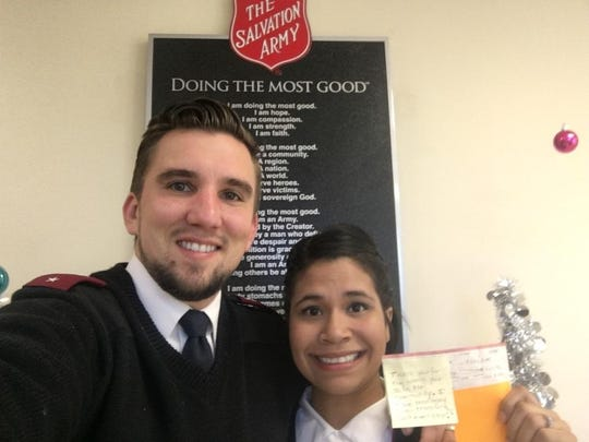 Lts. Ryan and Amber Meo of the Salvation Army of Tallahassee, which will be holding an Anti-Human Trafficking Campaign.