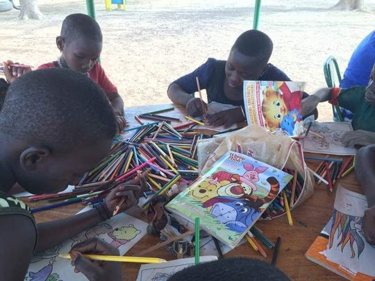 Most of the children Brooke Culver works with in Burkina