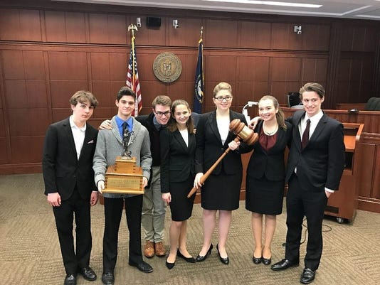 HHS Mock Trial State Champs 2017