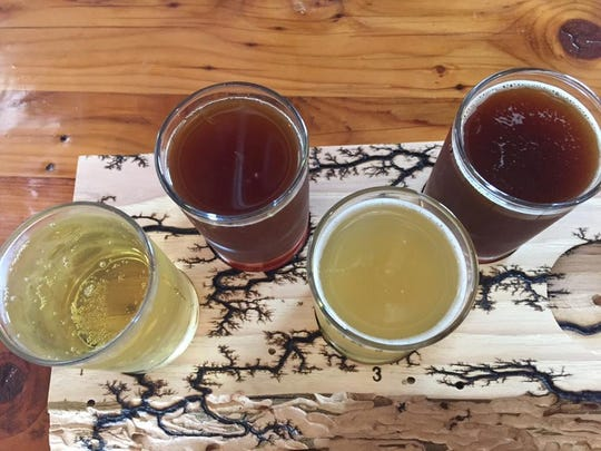 Light, dark, pineapple-flavored and root-beer like hard ciders are available for tasting at Liquid Alchemy Beverages. The tasting room is at 28 Brookside Drive, Wilmington. It's open Fridays through Sundays.