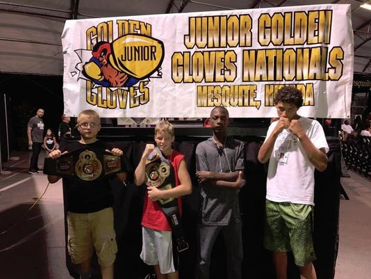 Trey Swartz -Ryan Ward -Robert Guest -Jamall Norris 2017 Nat Jr Golden Glove