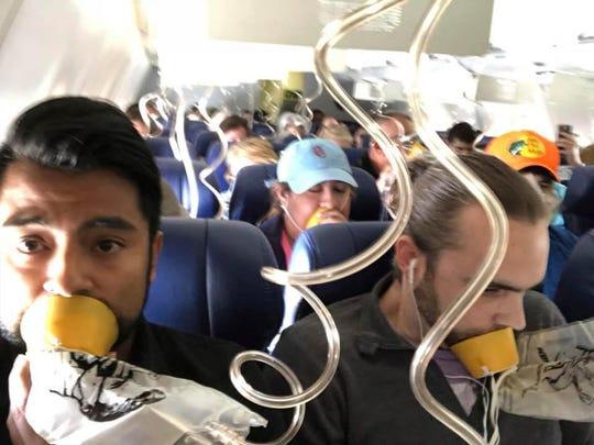 Southwest Airlines Oxygen Masks