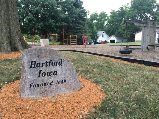 Residents in Hartford are raising money for a new playground during a fundra
