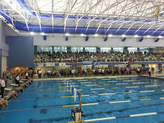 triangle center during meet