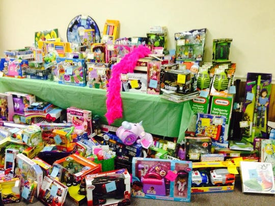 More than 1,300 toys were collected at the first annual Jeffrey Szatkowski Jr. Toy Drive on Sunday. The event was held in honor of 17-year-old Szatkowski, of Spotswood, who died last year in a car accident that also took the life of his girlfriend, Nicole Surace, 18, of Milltown.