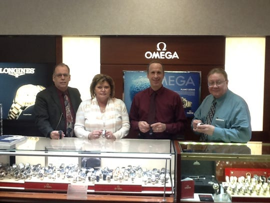 On Sunday, Daylight Savings Time ends, which means it's time to turn your clocks back one hour before you go to bed Saturday. The employees of Fords Jewelers in Woodbridge began working Friday to adjust their watches and clocks for the time change.