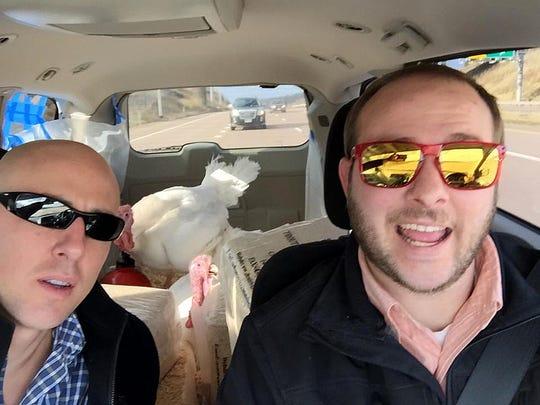 Cole and Luke Cooper, of Ohio's Cooper Farms, take