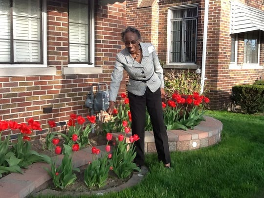 Helen Dayley, Cassandra Spratling's 96-year-old aunt, once worked at the Federal Courthouse in Detroit.
