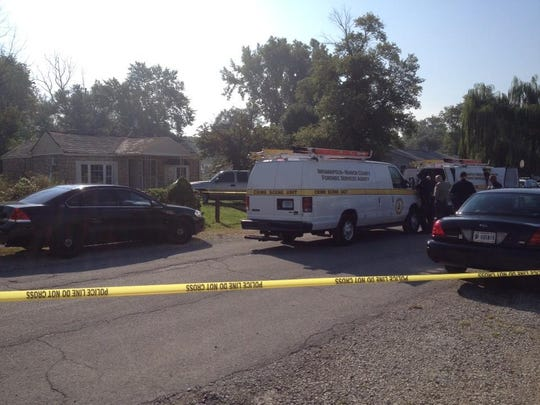 Indianapolis Metropolitan Police responded to a shooting reported at 3031 Chase Street, just south of Troy Avenue and east of the White River.