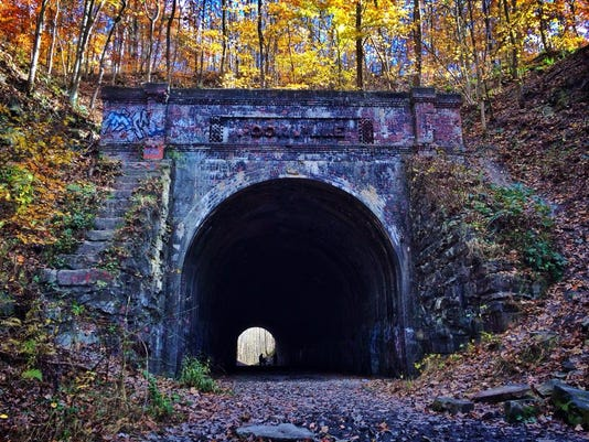 Athens, Ohio - Moonville Tunnel (credit Athens County Convention and Visitor.jpg