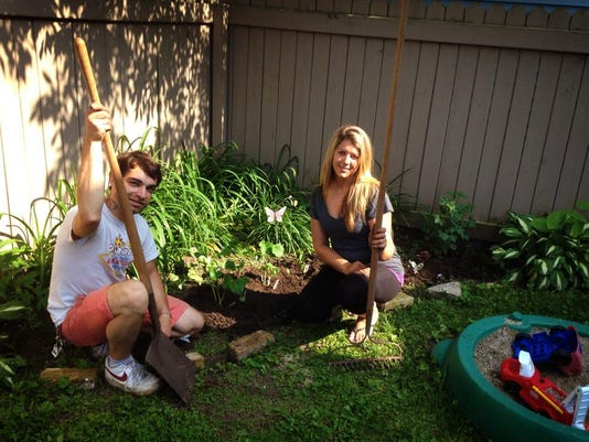 Grow It Forward-DVC Garden-Michael Pearson and Ashley Hendrickson.jpg