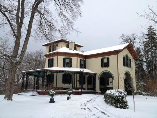 Tour guides will lead visitors through Locust Grove for the holidays, The Italianate mansion is on Route 9 in Poughkeepsie.