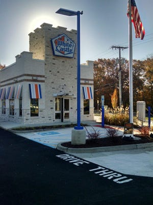 A 1,944-square-foot White Castle opened Wednesday on Route 9 in Lacey.