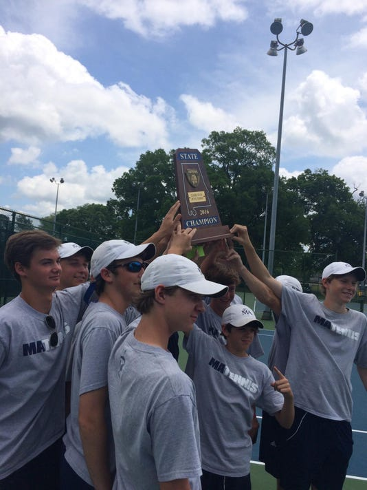 MA boys tennis state champions