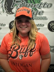 Palmetto Ridge senior softball player Savannah Nocera announced her signing with Milligan College (Tenn.) on Wednesday in a ceremony at the school. Nocera batted .514 as a junior last year.