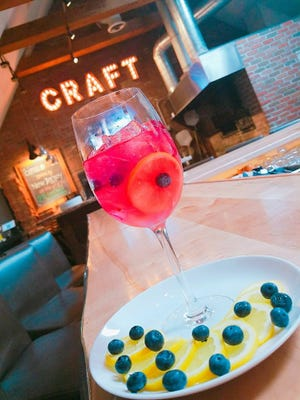 The Blueberry Lemonade Sangria from Capital Craft.
