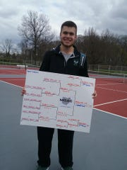 Clear Fork junior Noah Brown remained unbeaten in winning the Mid-Ohio Athletic Conference title at No. 1 singles.