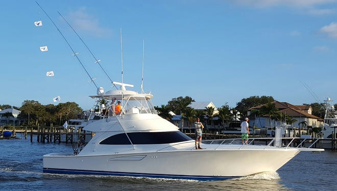 The fishing team aboard Martha D, led by Capt. Scott Fawcett of Jensen Beach, and owned by Ryan Dayton of Wellington, won the opening tournament during the 2016-17 sailfish season on the Treasure Coast.