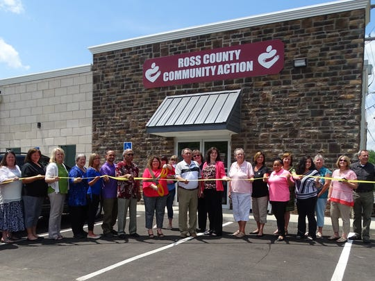 Ross County Community Action conducted a ribbon cutting for its new location in the former Salvation Army store on Western Avenue on Friday, May 19, 2017.
