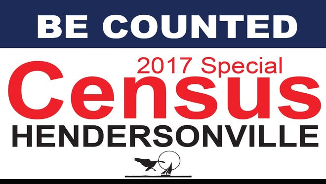 Hendersonville is conducting a special census, which officials say could help the city receive up to an additional $1 million in annual tax revenue from the state.