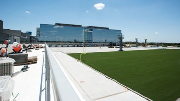 The Star is the new corporate headquarters of the Dallas Cowboys.
