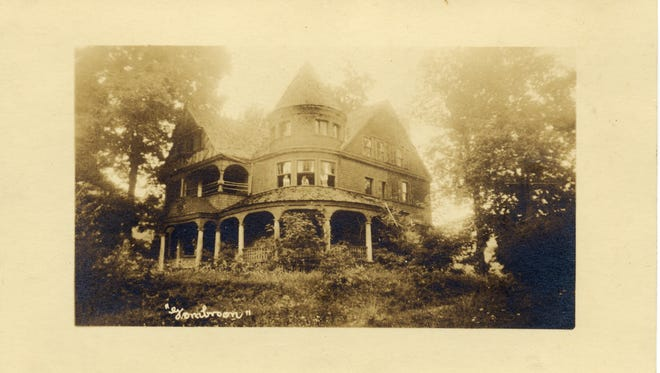 Gombroon was built as a summer retreat for Vance and his second wife, Florence Steele Martin of Kentucky, after they were married in 1880.