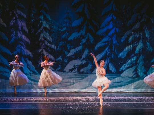 "Performing Arts Ensemble's ""Nutcracker"" features a"