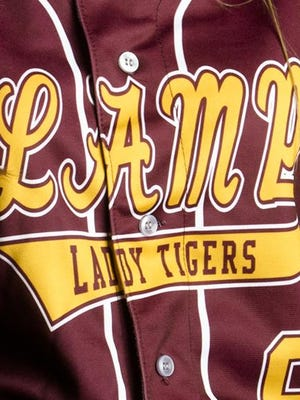 LAMP softball jersey uniform
