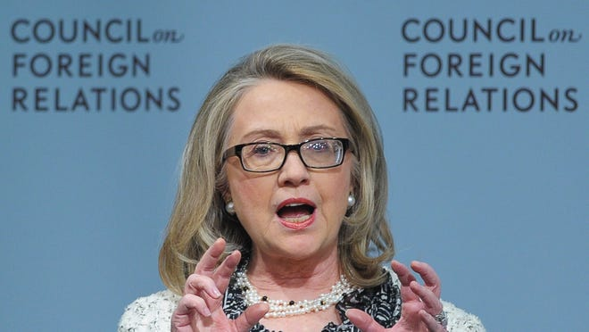 Former Secretary of State Hillary Rodham Clinton endorsed President Obama's call for a military strike against Syria on Monday. The remarks, which came at unrelated White House forum, and marked her first public comments on Syria since Obama called for a strike.