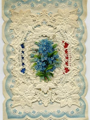 New England-born Esther Howland was 20 in 1848 when she began to design Valentine's Day cards.