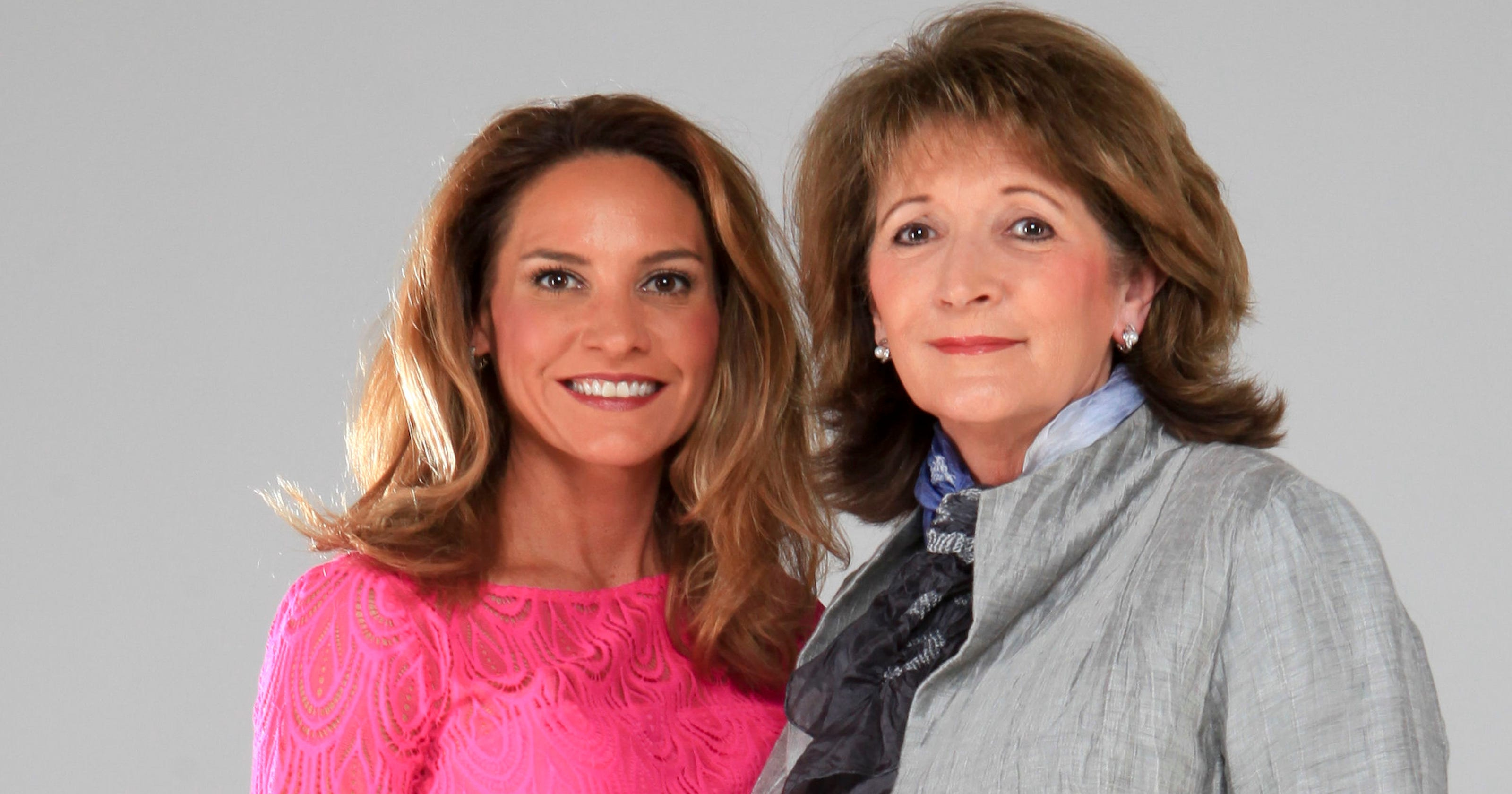 Sally and Dana Robinson a perfect business team with
