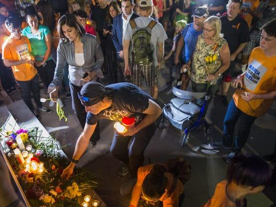 Vigil for Santa Fe High shooting