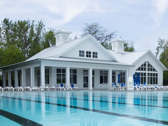 The Grindley Aquatic & Wellness Campus features a 6,000-square-foot