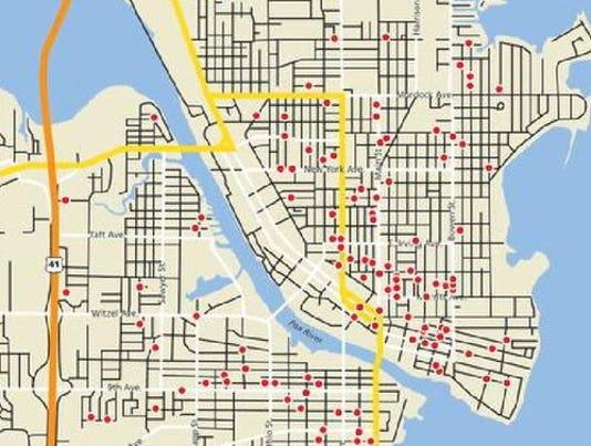 Oshkosh sex offender locations