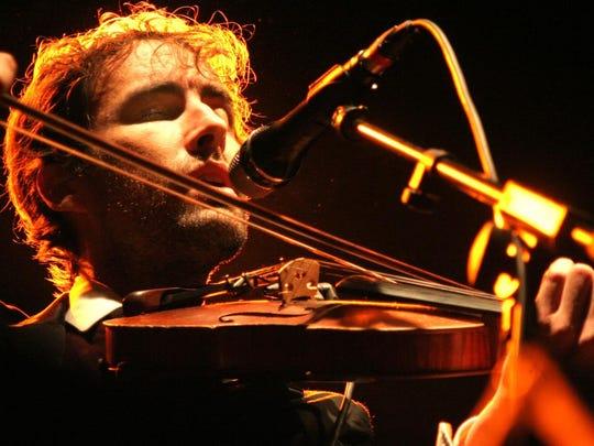 Andrew Bird performs at the Orange Peel on Sept. 13.