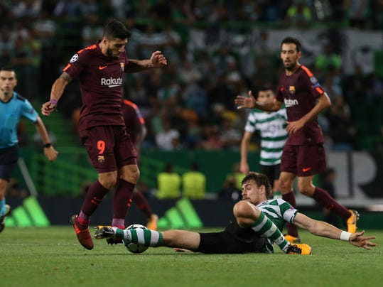 Image Result For Barcelona   Sporting Lisbon