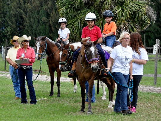 Last year's equestrian Special Olympic competition featured over 30 local athletes competing in the all-day event.