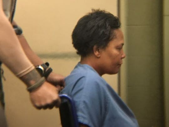 Sherra Wright, ex-wife of slain NBA star Lorenzen Wright, appears in a California court Monday for an extradition hearing.