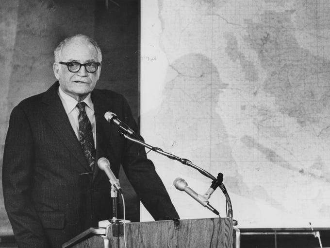 BARRY GOLDWATER: Arizona's first candidate for president,