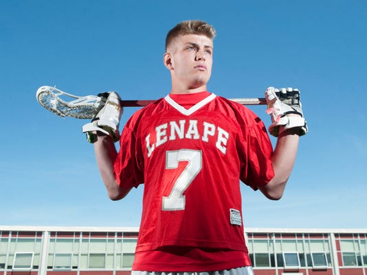 Lenape's Zach Cole - Boys' Lacrosse Player of the Year