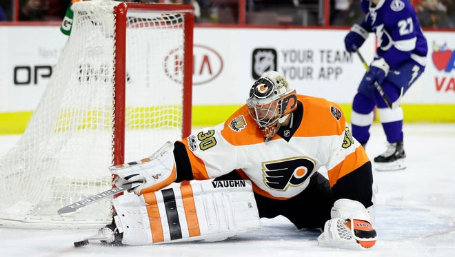 Michal Neuvirth made 24 saves in his first win since Nov. 3.