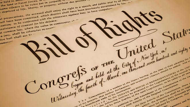 "Franklin Township Library will host a new pop-up exhibit from the National Archives, ""The Bill of Rights and You,"" commemorating the 225th anniversary of the ratification of this landmark document from Dec. 15 through Feb. 28."