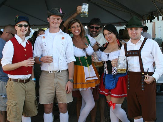 Colorful costumes and the raising of beer steins are just part of the fun of Perdido Key's annual Oktoberfest, which starts Friday.