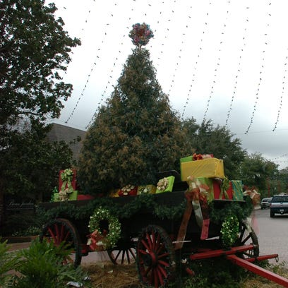 Front Street in Natchitoches is a sight to behold during