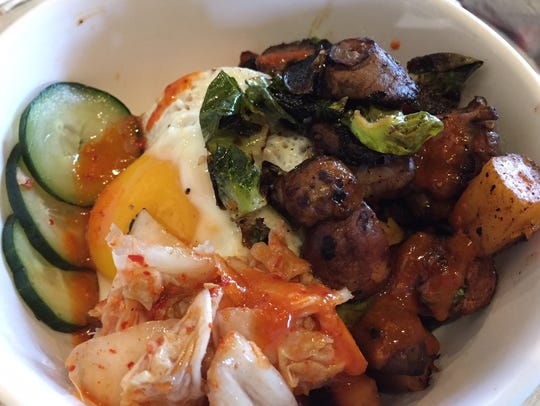 The popular GB&D bibimbap will feature heavily on the