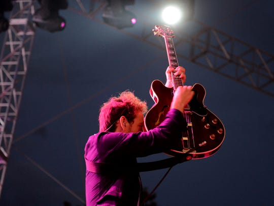 The National performs at the 2013 Bunbury Music Festival.