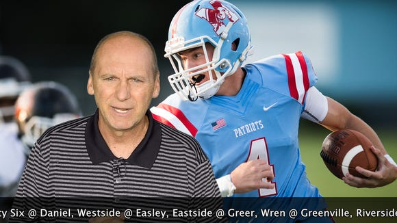 "The lineup includes Eastside-Greer, Wren-Greenville,ÊGreenwood-Mauldin and Mann-Woodmont in the Week 7 edition of ""Seven Points with Bob Castello."""