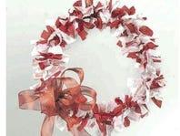 DIY: Make A Shabby Chic Rag Wreath